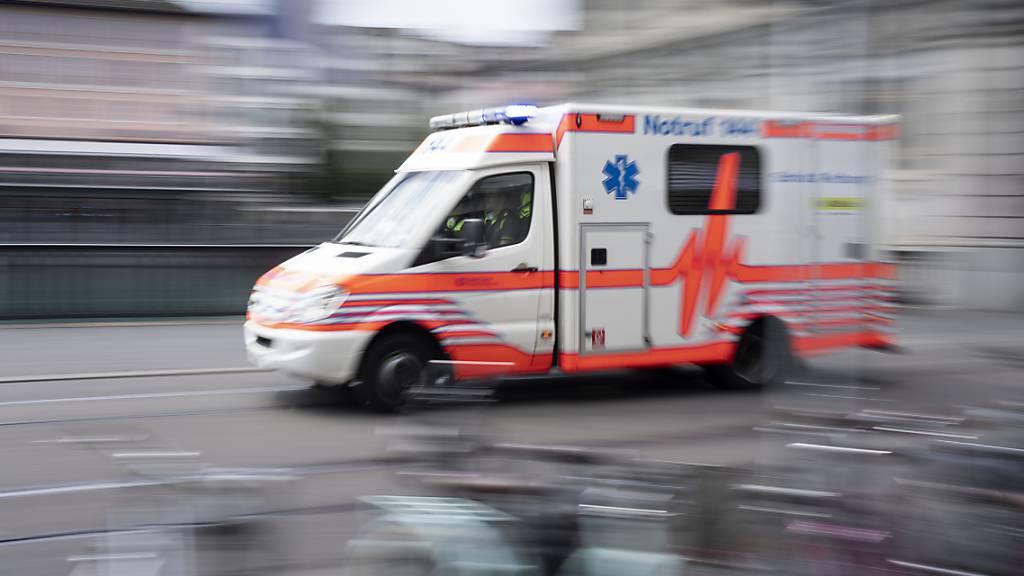 74-Jähriger bei Töffunfall in Gähwil SG tödlich verletzt