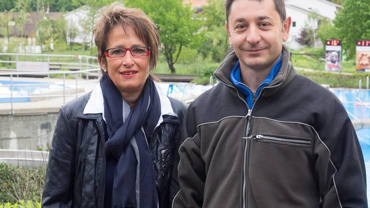 Dass der Saisonstart praktisch ohne Gäste verlief, nahmen Marlies Graf und Süri Markovic mit Humor