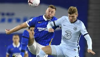 Timo Werner (rechts) kommt im ersten Spiel für Chelsea gleich von Beginn weg zum Einsatz