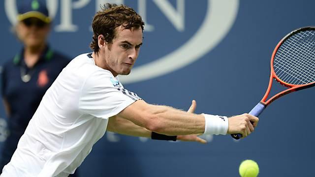 Andy Murray spielt am Sonntag um den US-Open-Titel.