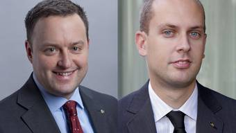 Sebastian Frehner (l.) und Joël Thüring gehen geschäftlich getrennte Wege