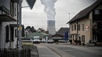 Das AKW Gösgen ist für das Solothurner Dorf Däniken so etwas wie ein Wahrzeichen.