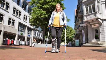 So erleben Gehbehinderte die Stadt Brugg
