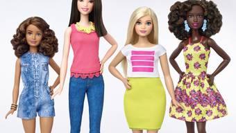 Auch Barbies in verschiedenen Grössen, Formen und Farben haben nichts daran verändert, dass die Kultpuppe ein Sorgenkind für Mattel ist.