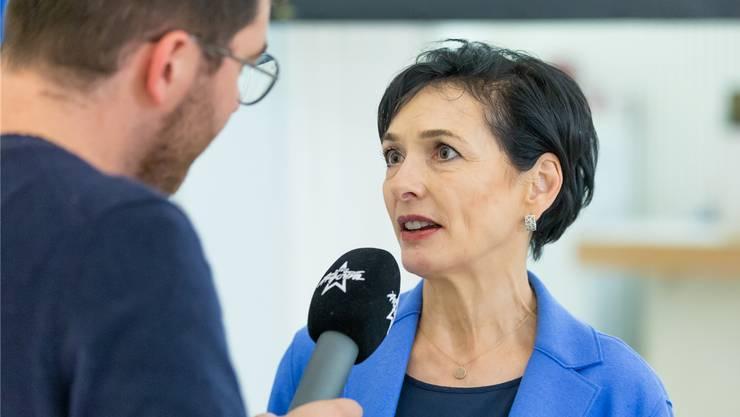 Siegerin im Interview: Marianne Binder (CVP) hat die Wende zum Erfolg geschafft.