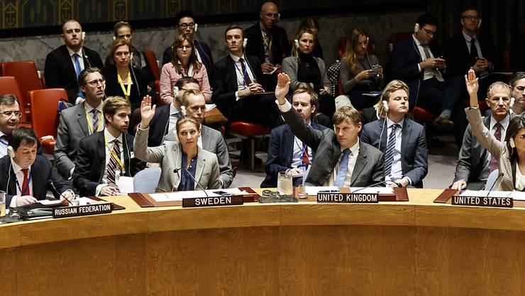 Die USA waren in diesem Jahr nicht erfolgreich, die Lage der Menschenrechte in Nordkorea im Uno-Sicherheitsrat erläutern zu lassen. (Archivbild)