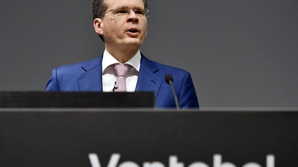 Vontobel-Chef Zeno Staub erwartet zwar für das laufende Jahr erneut ein «herausforderndes Umfeld». Doch die klare Erholung der Märkte seit Jahresbeginn dürfte für etwas Erleichterung sorgen.