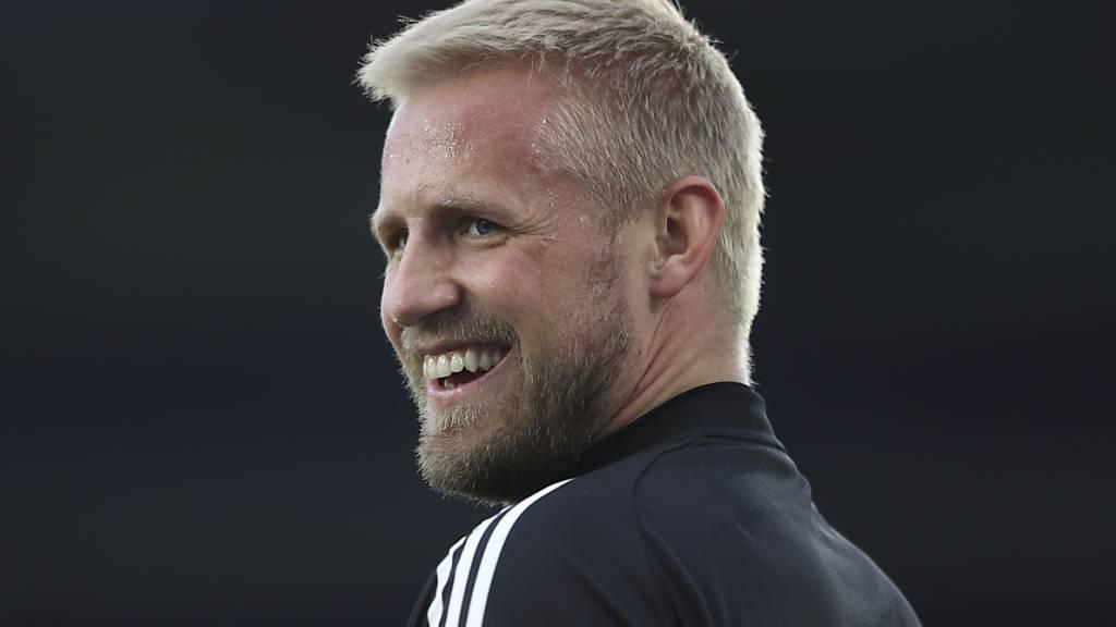 Das Lachen ist zurück: «Wir wollen rausgehen und etwas Aussergewöhnliches für Christian Eriksen leisten», sagt Dänemarks Goalie Kasper Schmeichel