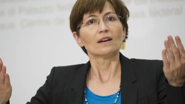 Grünen-Co-Präsidentin Regula Rytz (Archiv)