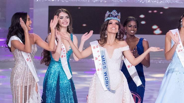 Die strahlende Siegerin heisst Vanessa Ponce de Leon und kommt aus Mexiko.