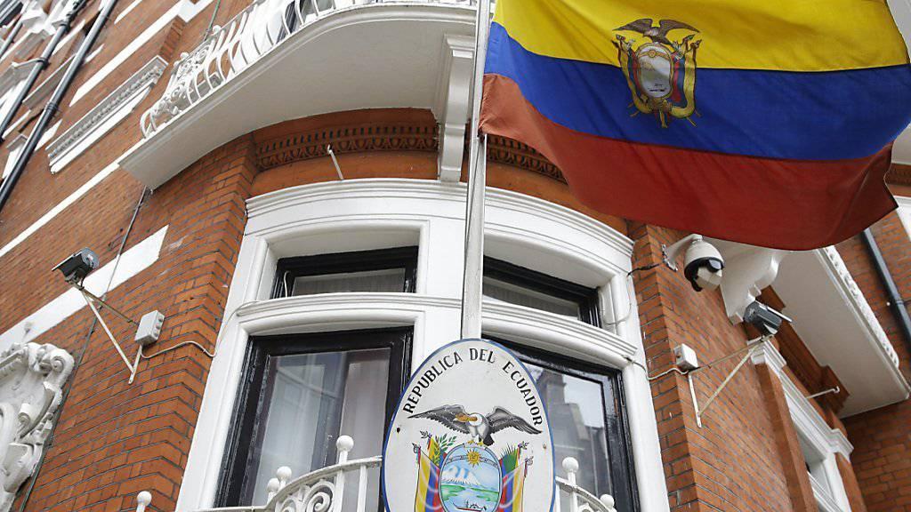 Drehte Wikileaks-Gründer Assange das Internet ab: Ecuadors Botschaft in London.