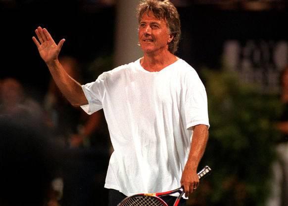 Dustin Hoffmann spielt auch selbst leidenschaftlich gerne Tennis.
