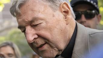 Berufungsantrag abgelehnt: Der wegen sexuellen Kindesmissbrauchs verurteilte australische Kardinal George Pell bleibt in Haft. Er war früherer Finanzchef des Vatikans und ein enger Papst-Vertrauter. (Archivbild)