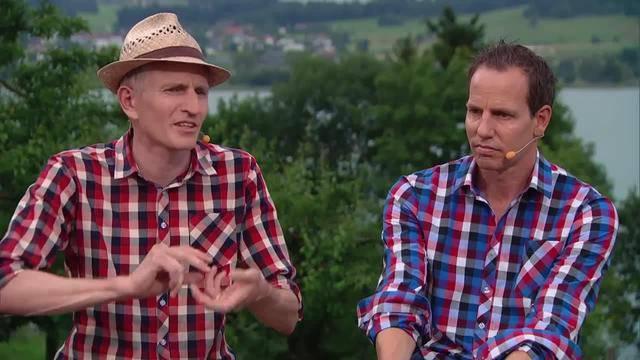 Martin und Beat Jucker, Inhaber Jucker Farm