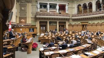 Stundenlange Debatten, am Schluss ein Kompromiss: Das Parlament hat das Bundesbudget fürs nächste Jahr bereinigt. (Archiv)