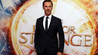 """Shakespeare geht vor, sagte sich Benedict Cumberbatch, und liess Dreharbeiten für """"Doctor Strange"""" verschieben. (Archivbild)"""