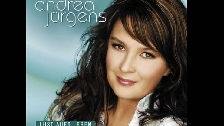 Die Schlagersängerin Andrea Jürgens - hier auf einem Plattencover - ist mit 50 Jahren gestorben. (Universal)