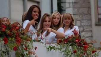 Die Gewinnerin der Wahl darf sich Miss Baden 2012 nennen.