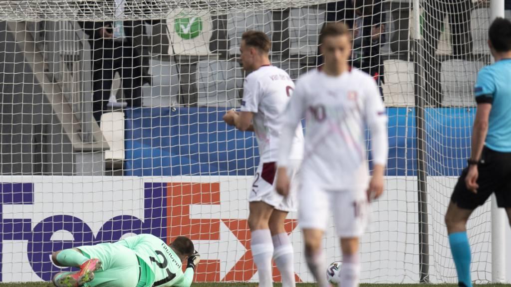 Dämpfer für die Schweizer U21 an der EM: 2:3 gegen Kroatien