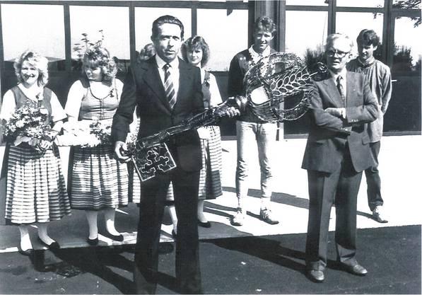 Der Schlüssel wurde am 21. August 1987 übergeben.