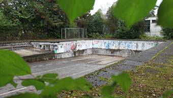 Seit rund 20 Jahren modert das Schwimmbecken der Kanti Solothurn vor sich hin.
