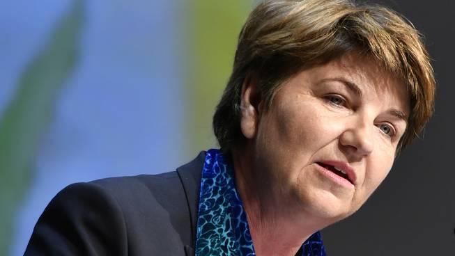 «Den Vorschlag von Herrn Grüter halten wir für sinnvoll»: CVP-Nationalrätin und Sicherheitspolitikerin Ida Glanzmann. Bundesrätin Viola Amherd hat sich noch nicht konkret dazu geäussert.