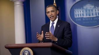 US-Präsident Barack Obama warnt vor grossen Steuererhöhungen (Archiv)