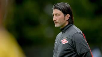 Murat Yakin zu seiner Zeit als Spartak Moskau-Trainer. Ist Schaffhausen seine nächste Destination?