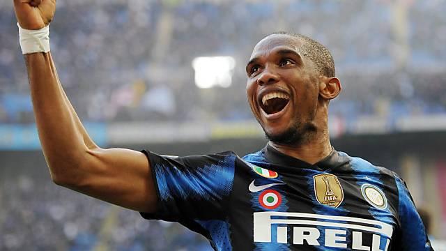 Doppeltorschütze für Inter: Samuel Eto'o