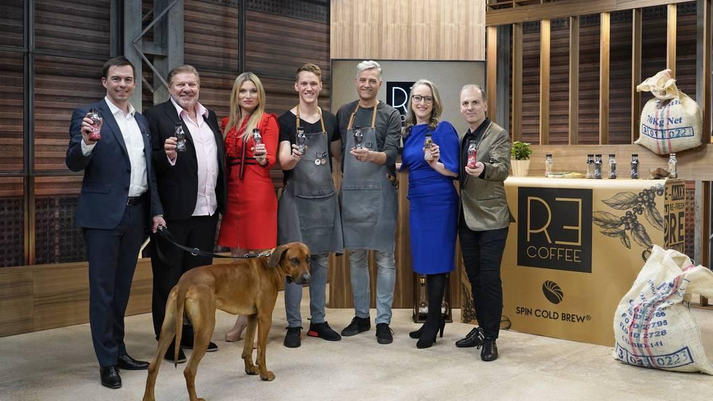 Tobias Reichmuth, Jürg Marquard, Anja Graf, Kevin Allemann, Roland Laux, Bettina Hein und Roland Brack (v.l.n.r.)