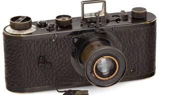 """2,4 Millionen Euro war einem Bieter aus Asien diese """"0-Serien Leica"""" wert."""