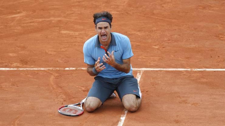 2009 gewann Roger Federer zum bisher einzigen Mal die French Open.
