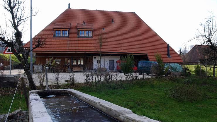 Das Zentrum der Kirschblütengemeinschaft in Lüsslingen-Nennigkofen.