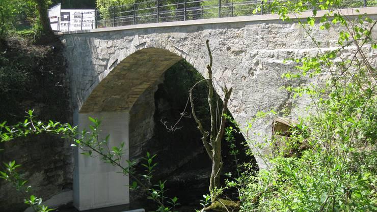 Ab dem 1. Mai ist das Steinebrüggli in Liestal wieder begehbar.