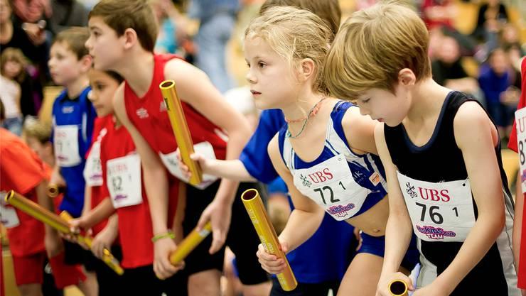 Morgen Sonntag kämpfen die jungen Talente der lokalen Leichtathletik- und Turnvereine um den Finaleinzug.