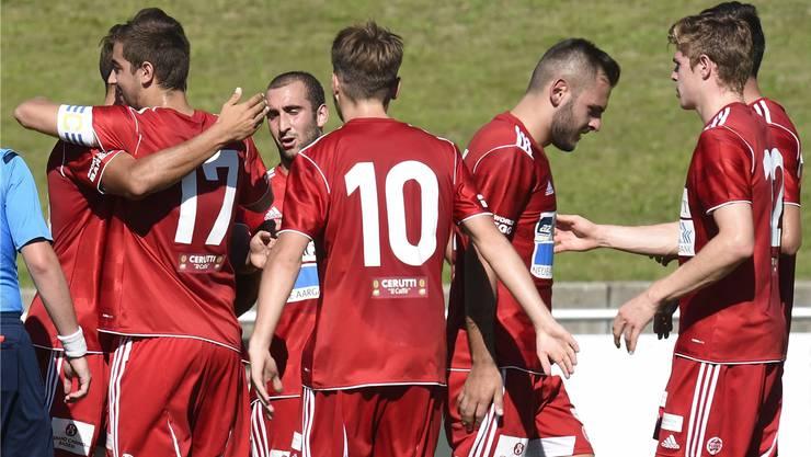Gehen Seuzach setzt es für den FC Baden eine Niederlage ab.