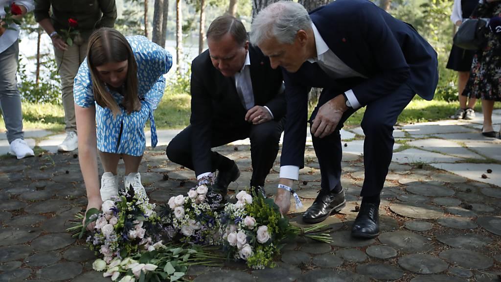 Zehn Jahre nach Terror Anschlag - Norwegen gedenkt Anschlagsopfern