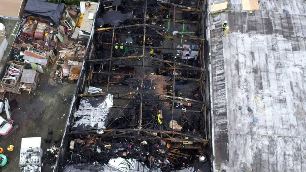 Beim Brand während einer Lagerhaus-Party waren im kalifornischen Oakland vor gut vier Jahren 36 Personen ums Leben gekommen. (Archivbild)