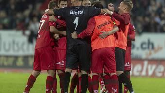 Der FC Winterthur feiert den zweiten Sieg in dieser Saison gegen einen Super-League-Verein