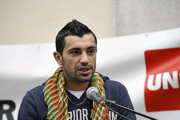 Ayhan Karakas vom kurdischen Kulturverein Solothurn
