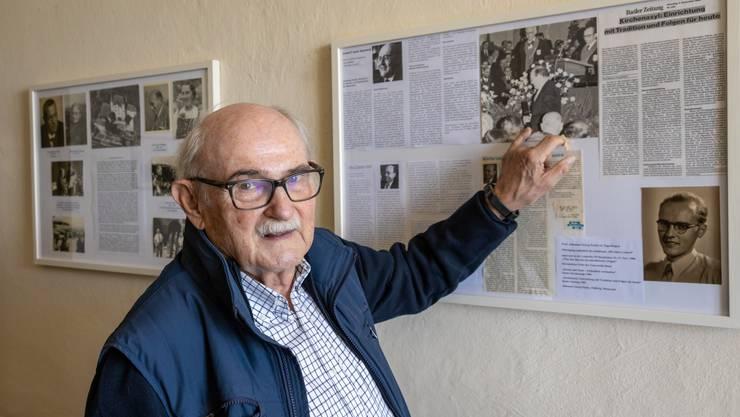 Peter André Bloch hat die Gedenkausstellung zusammengestellt