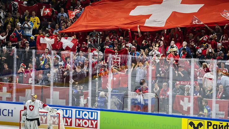 Gegen Russland waren die zahlreichen Schweizer Fans begeistert. Nun folgt mit Schweden gleich der nächste grosse Gegner