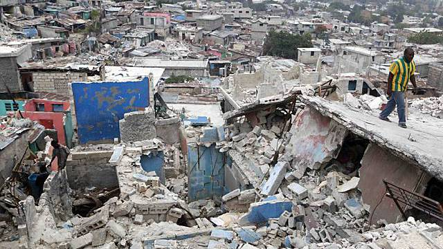 60 Prozent der Häuser in Haitis Hauptstadt Port-au-Prince sind zerstört (Archiv)