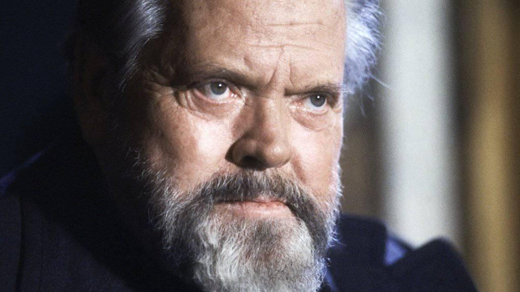 """Orson Welles' letzter Film """"The Other Side of the Wind"""" wird mehr als 30 Jahre nach seinem Tod vollendet und von Netflix zum Senden aufbereitet. (Archivbild)"""