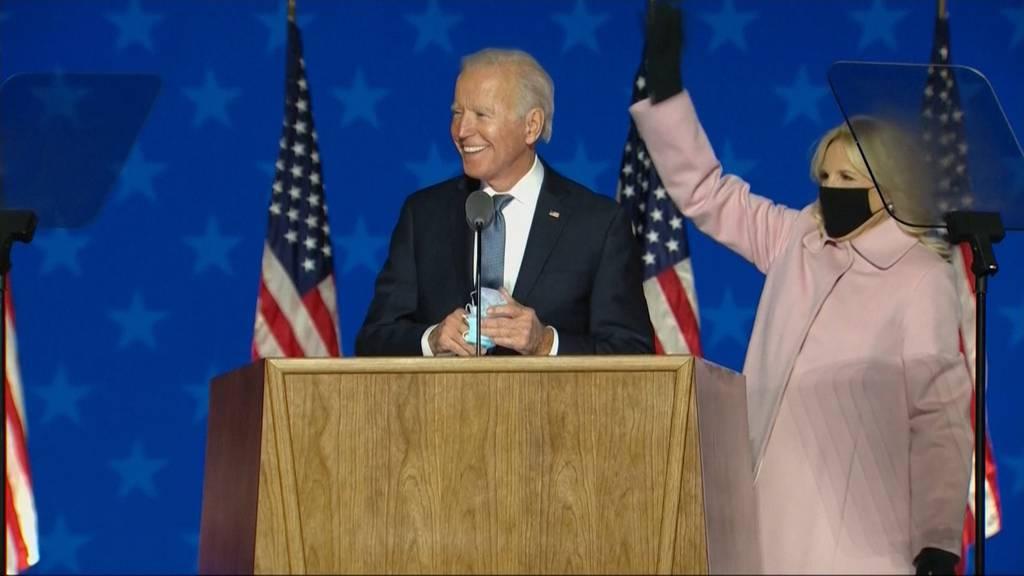 Siegessicherer Biden - trotz Rückschlag in Florida: «Wir werden gewinnen!»