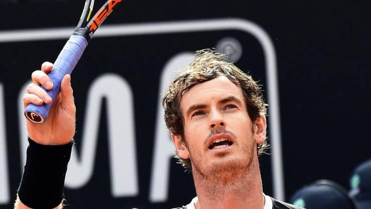 Andy Murray erfreut sich wieder einer sehr guten Form