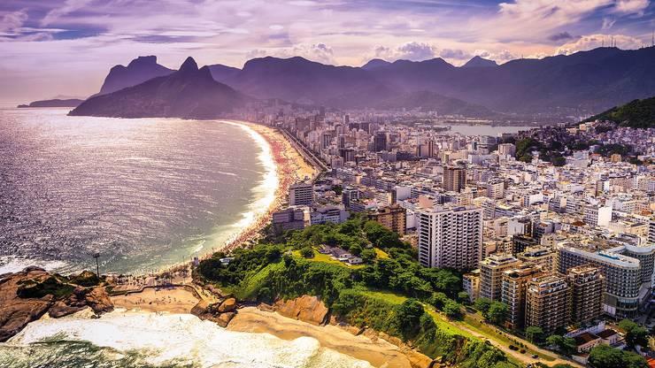 Ein Besuch an der Copacabana gehört natürlich zum Pflichtprogramm