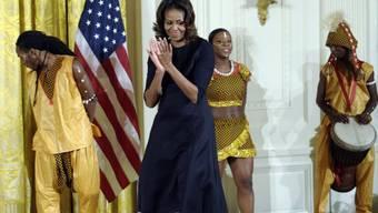 Bedingt Applaus für Facebook von First Lady Michelle Obama (Archiv)