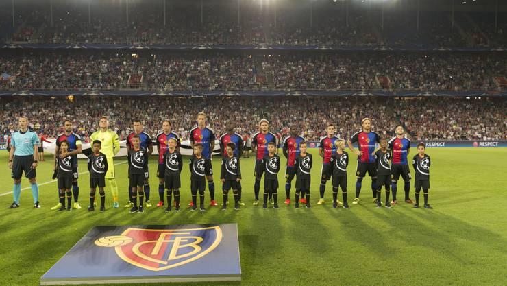 Champions League-Stimmung im St. Jakobpark beim ersten Gruppenspiel gegen Ludogorets.