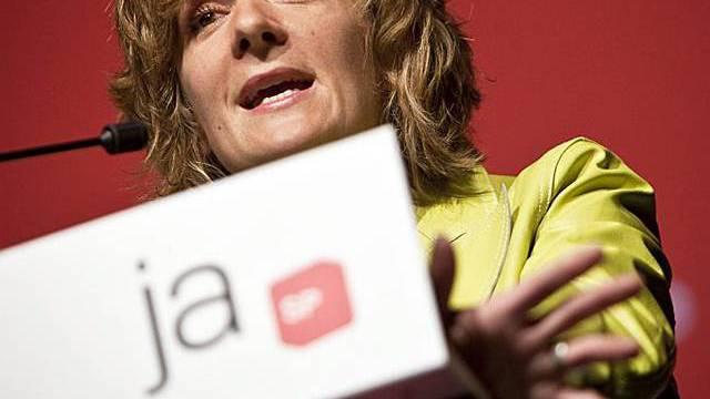 Nationalrätin Ursula Wyss an der Delegiertenversammlung